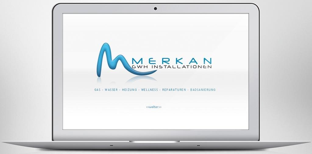 Webdesign Martin Merkan – GWH Installationen