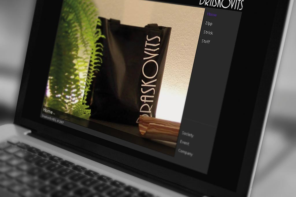 Webdesign für DRASKOVITS