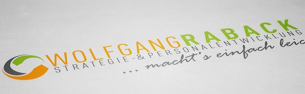 Logodesign für Wolfgang Raback