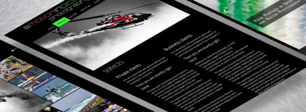 Webdesign für Emotion in Pictures
