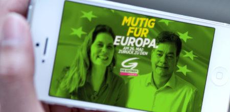 Webseiten für die Grünen Österreich