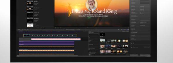 Musik und Video für Mag. Roland König