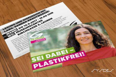 Flyer Sei dabei-Plastikfrei