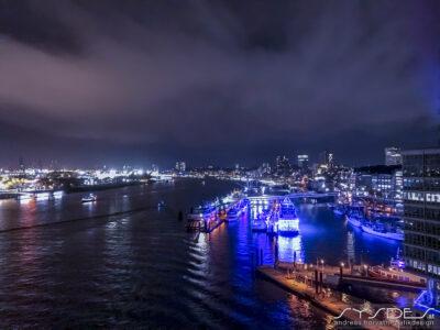 Nightshot Hamburger Hafen