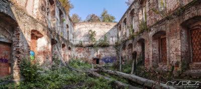 Verfallenes Haus Rosenhain