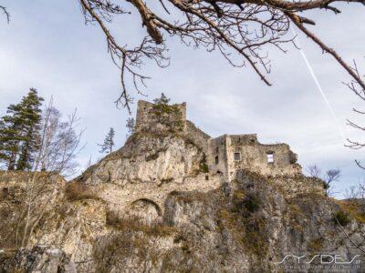 Burgruine Klamm, Semmering