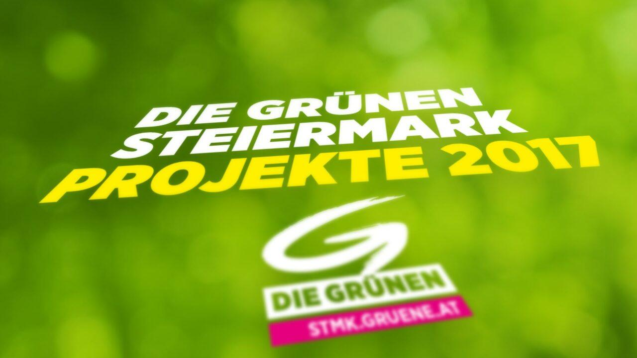 Die Grünen Steiermark – Projekte 2017