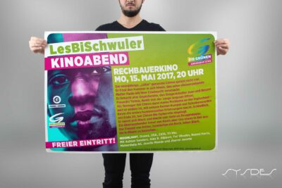 Plakat Kinoabend