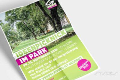 Ideenpicknick im Park Leoben