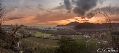 Sonnenuntergang Graz