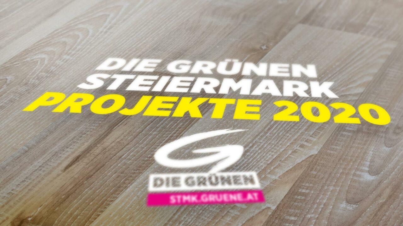 Die Grünen Steiermark – Projekte 2020