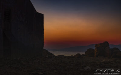 Rhodos Altstadt Impressionen Sonnenuntergang