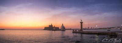 Sonnenuntergang Saint Nicholas Fortress