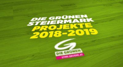 Die Gruenen - Projekte 2018-2019