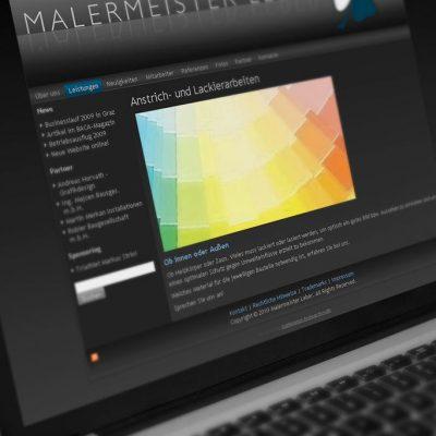 Webdesign Malermeister Leber GmbH Graz