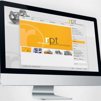 Website Reisinger Power Transmission.