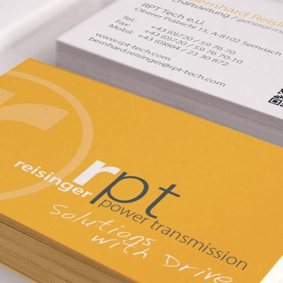 Reisinger Power Transmission - Neue Corporate Identity