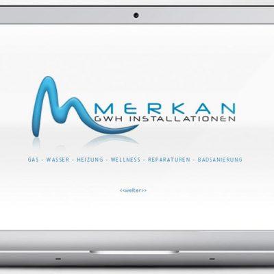 Website Merkan GWH Installationen