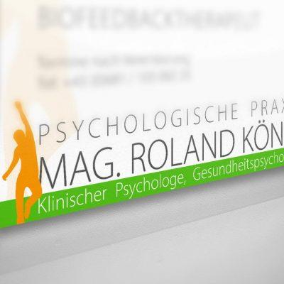 Neugestaltung des Logo für die Psychologische Praxis von Mag. R